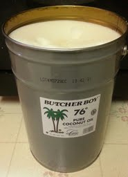 50 lbs of Coconut Oil from Country Life Natural Foods