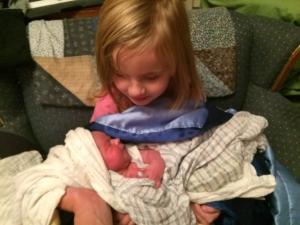 Ruby Holding Julian