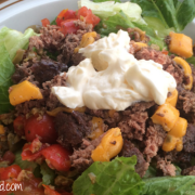 Embracing Motherhood Hamburger Salad Recipe