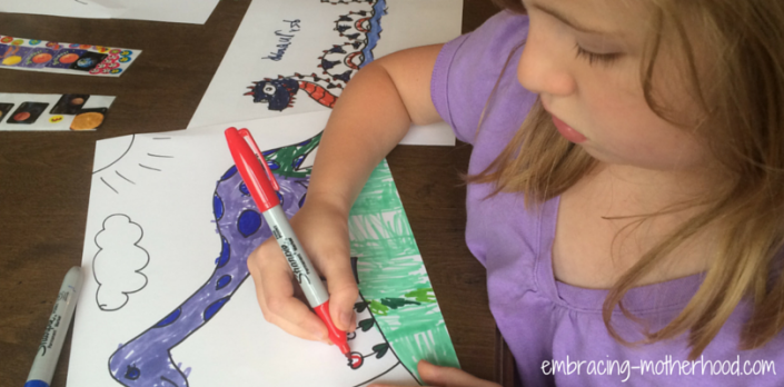 Yes, This is Really a Post About Coloring Embracing Motherhood