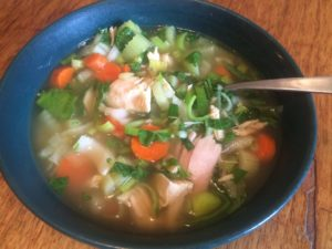 Chicken Soup Bowl