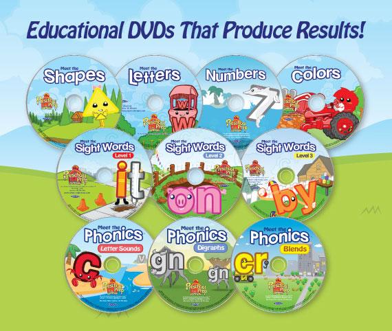 Preschool Prep DVDs