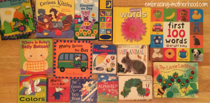 My Favorite Books for Babies