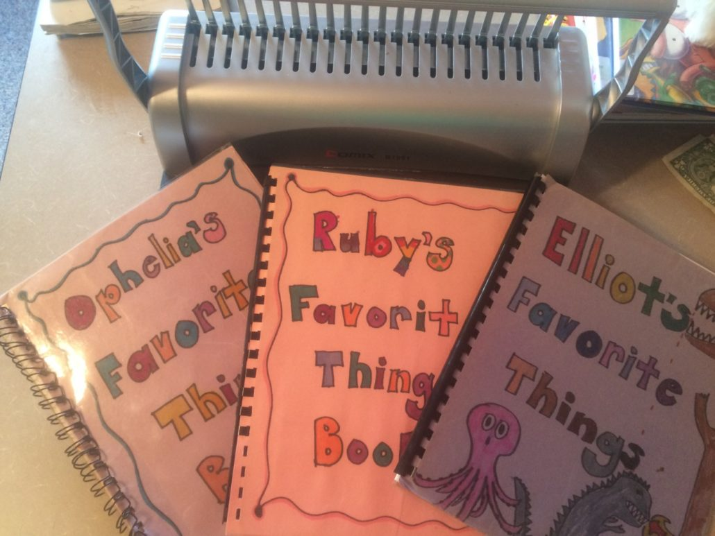 Ophelia, Ruby, and Elliot's Favorite Things Books