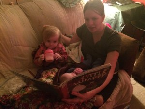 Reading with Ophelia