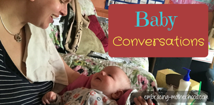 Baby Conversations Are an Important Part of Language Development