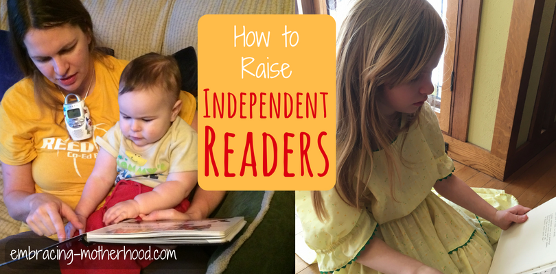 Encouraging Children to Read Independently (Part 7 in a Teach Your Child to Read Series)