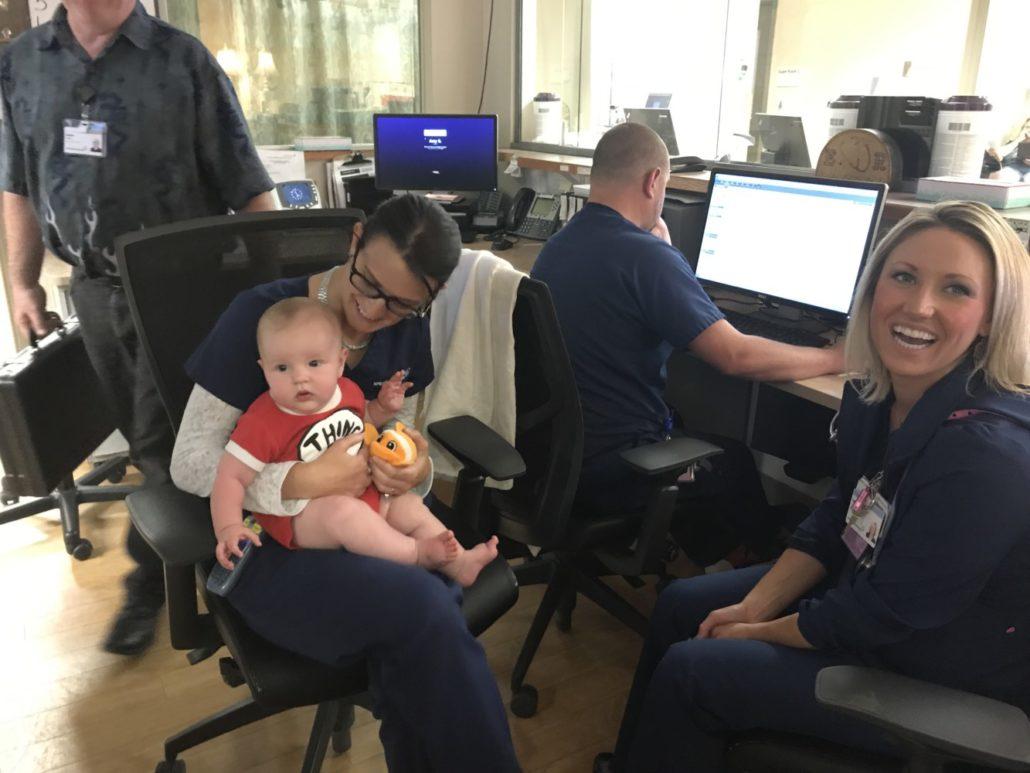 Nurses Holding Jack